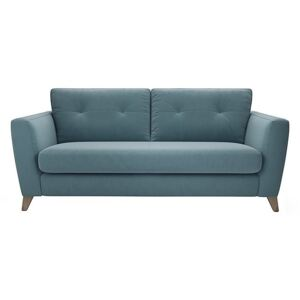The Lounge Co. - Hermione 3 Seater Fabric Sofa - Blue