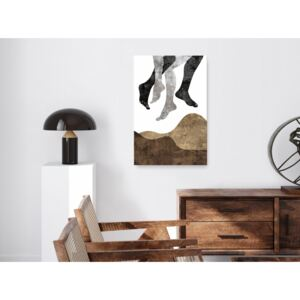 Canvas Print Abstract: Off the Ground (1 Part) Vertical