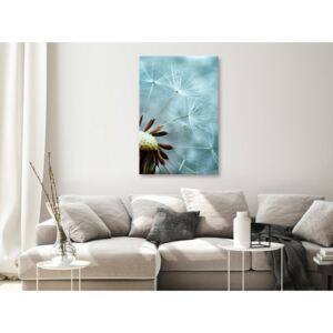 Canvas Print Other Flowers: Elevation of Space (1 Part) Vertical