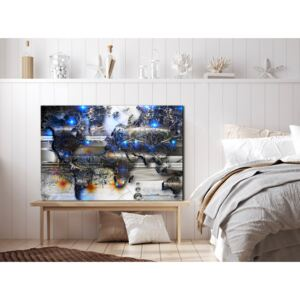 Canvas Print Abstract: Earth Glow (1 Part) Wide