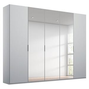Rauch - Formes Decor 5 Door Hinged Wardrobe with 3 Mirrors