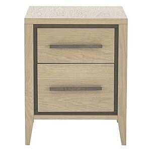 Durrell 2 Drawer Night stand - Brown