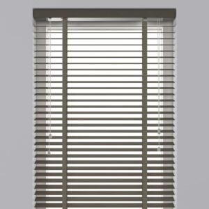 Decosol Horizontal Blinds Wood 50 mm 80x180 cm Taupe