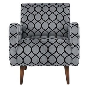 Alexander and James - Sumptuous Fabric Accent Chair