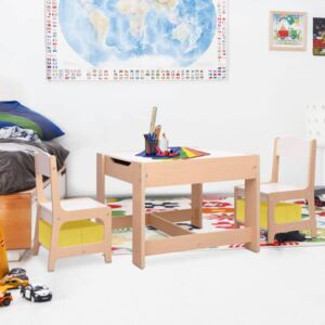 Children's Table with 2 Chairs MDF