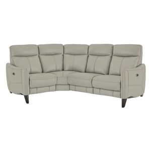 Compact Collection Petit Leather Corner Sofa- World of Leather