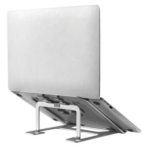 NewStar Foldable Laptop Stand 10-17 Silver