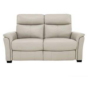 Compact Collection Piccolo 2 Seater Leather Static Sofa- World of Leather