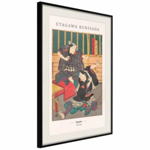 Poster Japanese Woodcut [Poster]
