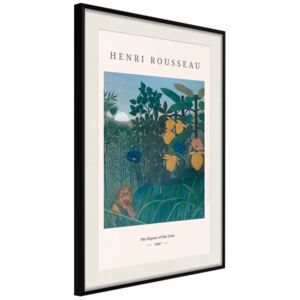 Poster Henri Rousseau: The Repast of the Lion [Poster]
