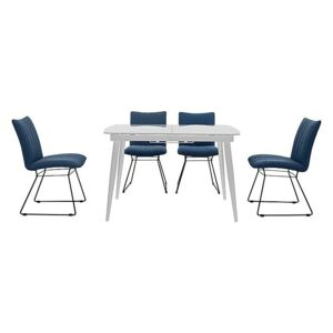 Ace Small Extending Dining Table and 4 Chairs