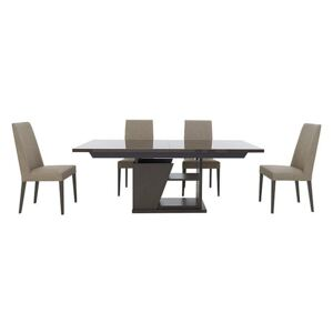 ALF - Trillo Dining Table and 4 Chairs - 210-cm - Beige