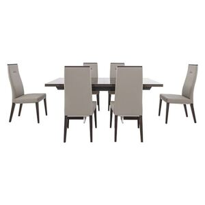 ALF - Corrado Extending Dining Table and 6 Dining Chairs - 210-cm