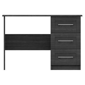 London Bedrooms - Fenchurch Dressing Table - Black