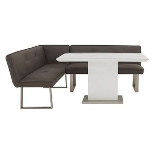 Central Park Dining Table and Left-Hand Facing Corner Bench Set