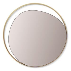 Ellipse Wall mirror - / Ø 80 cm by RED Edition Gold/Metal