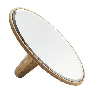 Barb Small Mirror - Ø 21 cm - Wood by Woud Natural wood