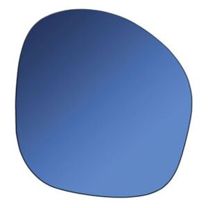 Pebble Wall mirror - / 30 x 32 cm by & klevering Blue