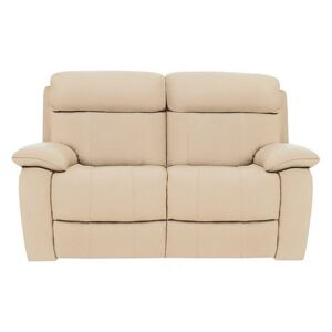 Moreno 2 Seater Leather Sofa - Beige- World of Leather