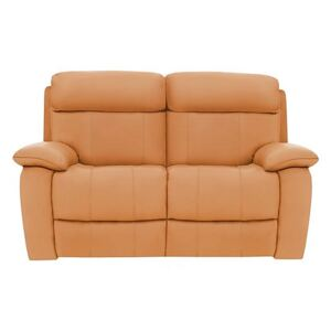 Moreno 2 Seater Leather Sofa - Yellow- World of Leather