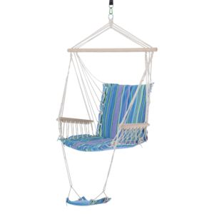 Outsunny Hanging Swing Chair-Multi-Color/White Rope