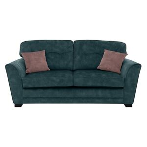 Nelly 3 Seater Fabric Sofa - Teal