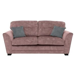 Nelly 3 Seater Fabric Sofa - Pink