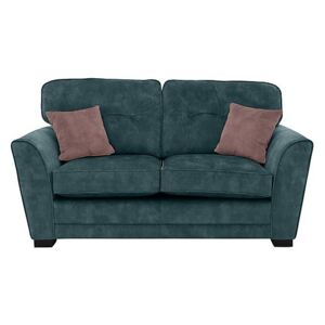 Nelly 2 Seater Fabric Sofa - Teal