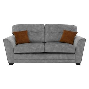 Nelly 3 Seater Fabric Sofa - Grey