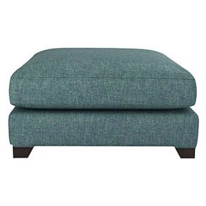 The Lounge Co. - Lorrie Fabric Footstool - Blue