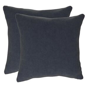 The Lounge Co. - Peyton Pair of Large Scatter Cushions - Blue