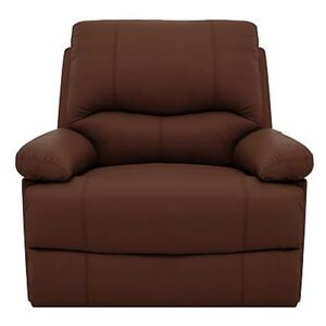 Dallas Pure Leather Power Recliner Armchair With USB Port