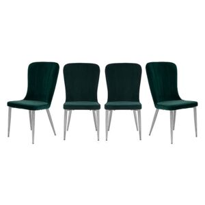 Set of 4 Raph Chairs - Green