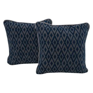 Mimi Pair of Scatter Cushions - Blue