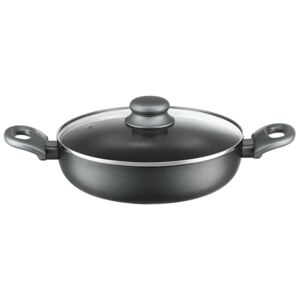 Frying pan with lid deep induction Graphite 28 cm AMBITION