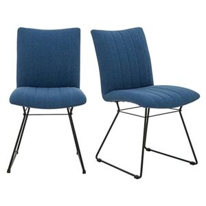 Ace Pair of Dining Chairs - Blue