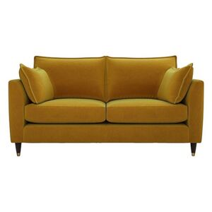 The Lounge Co. - Colette Fabric 2 Seater Sofa - Yellow