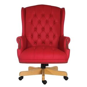East River Chairman Chair - Red