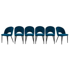 Set of 6 Angelo Fabric Chairs