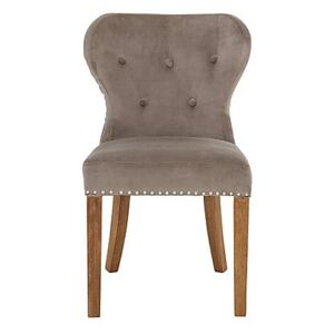Chennai Upholstered Dining Chair - Brown