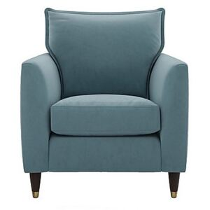 The Lounge Co. - Colette Fabric Armchair - Blue