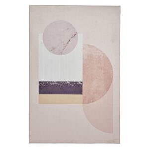 Michelle Collins Abstract Art Rose Rug - 120cm-x-170cm