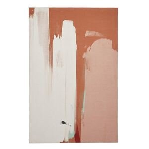 Michelle Collins Abstract Art Terracotta and Cream Rug - 120cm-x-170cm