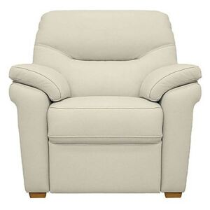 G Plan - Seattle Leather Armchair With Feet