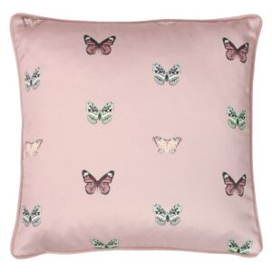 Butterfly Printed Cushion - 43x43cm