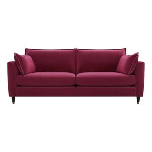 The Lounge Co. - Colette Fabric 4 Seater Sofa - Pink
