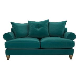 The Lounge Co. - Bronwyn 2.5 Seater Fabric Scatter Back Sofa - Teal