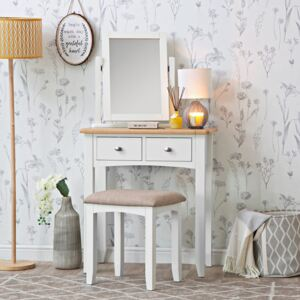 Gloucester White Painted Dressing Table