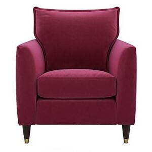 The Lounge Co. - Colette Fabric Armchair - Pink