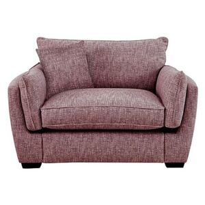 Living Proof Sofas - Griffin Fabric Snuggler Chair - Pink